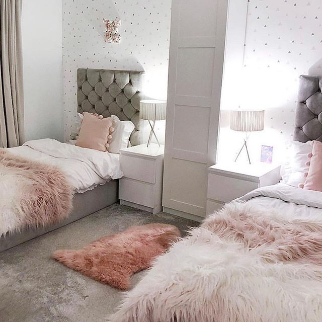A Beautiful Room For Two With My Favorite Tufted Headboards Great