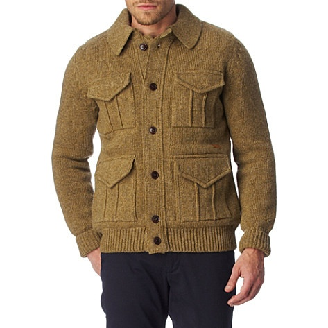 BARBOUR Burdock knitted cardigan - More here: http://fave.co/UfeoPl