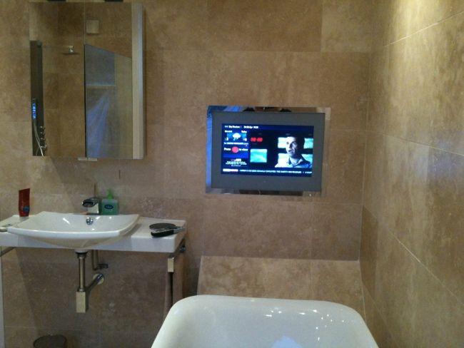 Die besten 25+ Badezimmerfernseher Ideen auf Pinterest Bad Make - tv im badezimmer