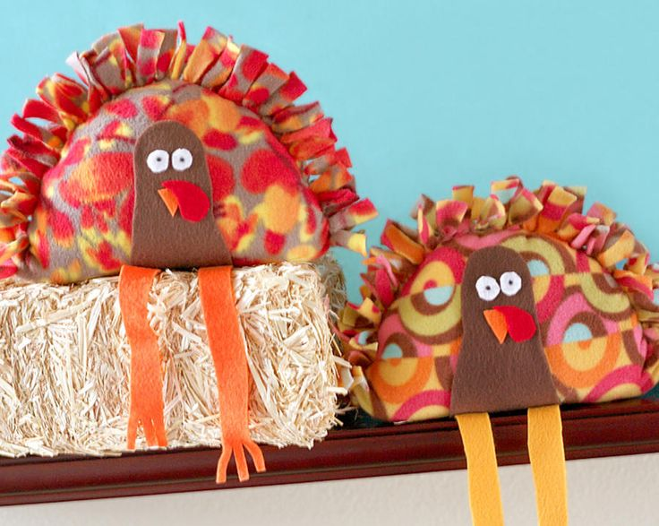 Stuffed Turkeys kids thanksgiving craft!