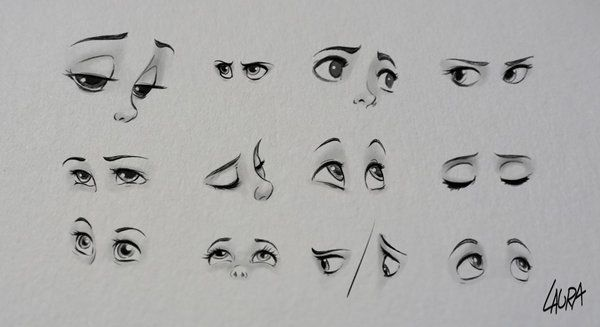 how to draw disney eyes - Google Search