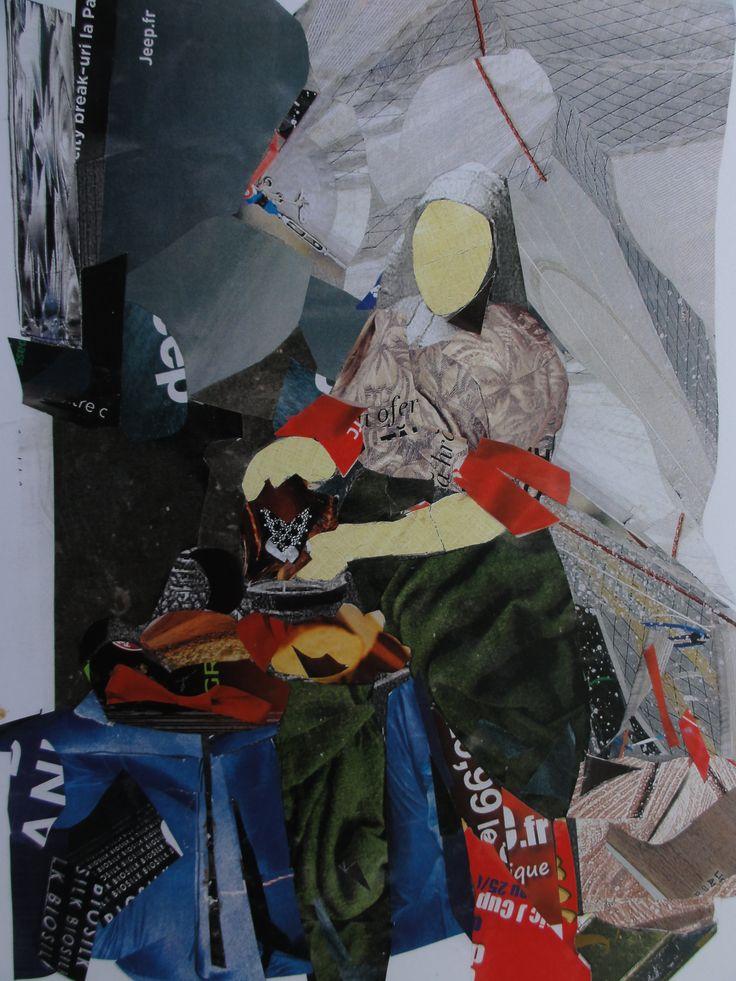 Collage Art by Adora Cutanoska