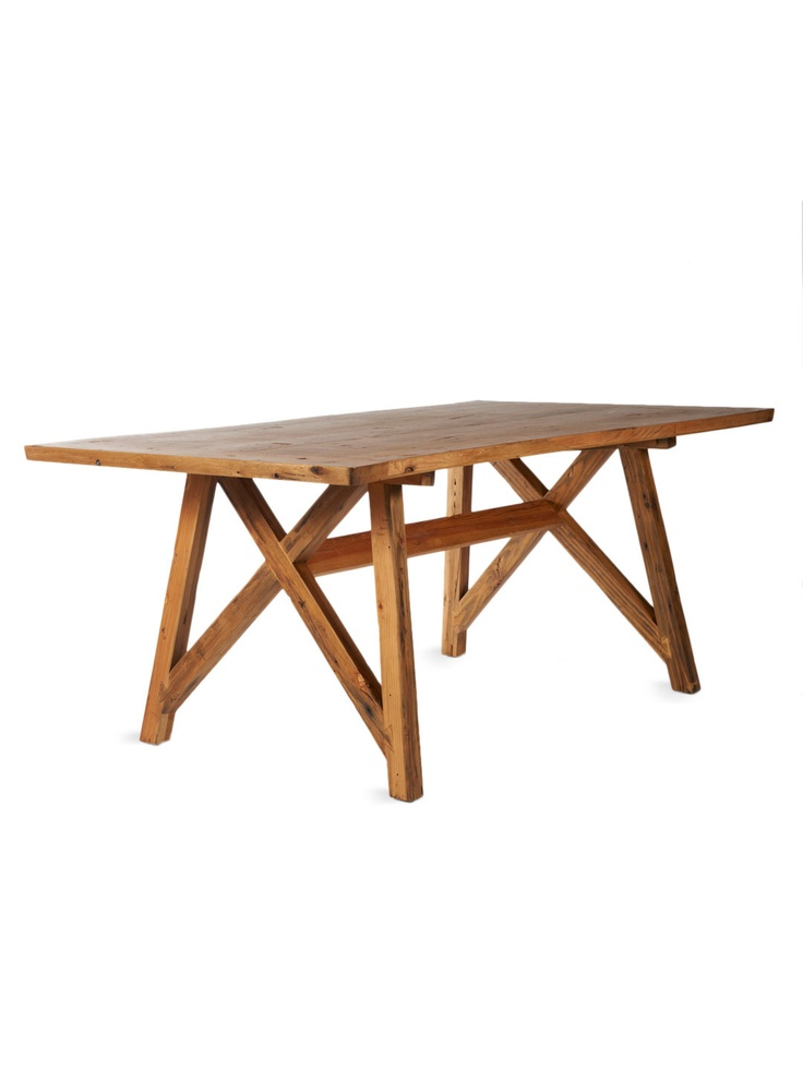 Like this farm house table paired with a modern mix of  : 430acf5b762ead433994802b54420f9d farm house tables dining room tables from www.pinterest.com size 736 x 981 jpeg 63kB