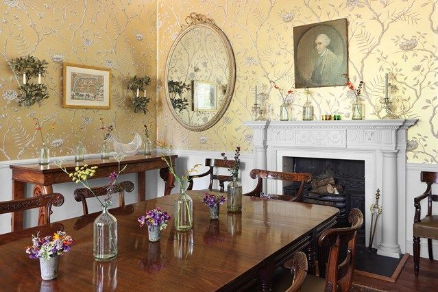 Gold Dining Room Decor: 261 Best Images About British Isles Decor On Pinterest