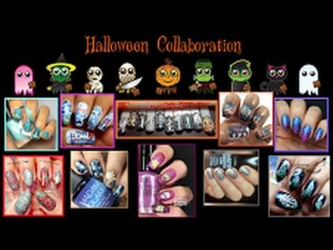 """""""Halloween Nail Art Collab"""" 