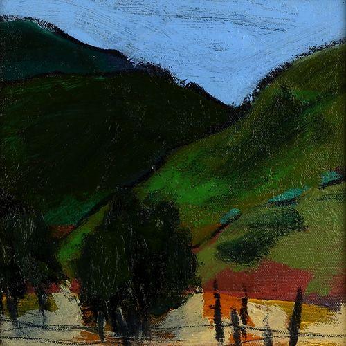 Landscape oil painting 08-040