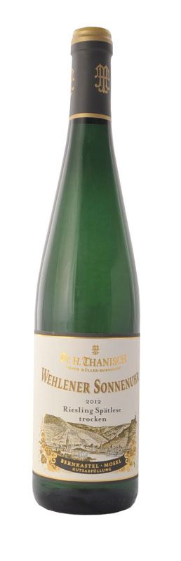 Dr.H.Thanisch, Wehlener Sonnenuhr Riesling Spatlese , Mosel