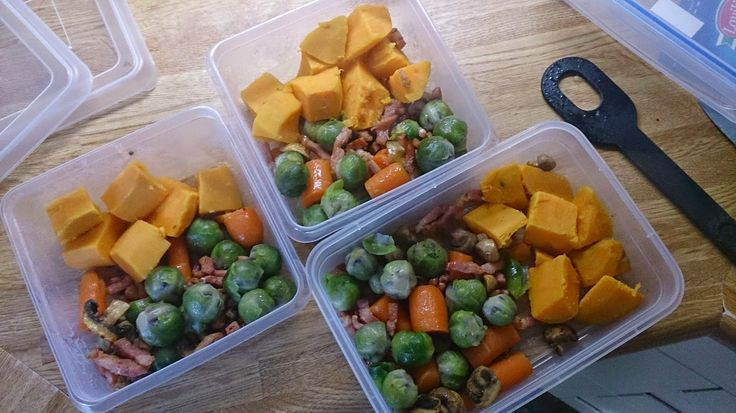 Gezonde maaltijden op voorraad hebben voorkomt dat je verkeerde dingen eet.  #gezondeten #voorbereiden