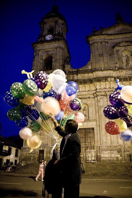 bogota. First thing im going to do when i ce one of those ballons is that im finally going to buy one :)