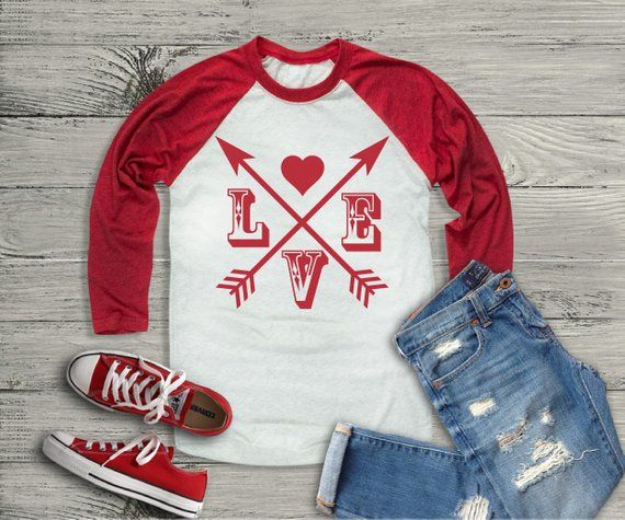 Love Arrows Valentines Day Baby /& Toddler Long Sleeve T-shirt