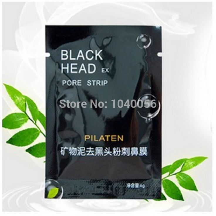 Promotions!PILATEN Face Care Tearing style Deep Clean purifying Conk Nose Blackhead Remover, acne treatment, black mud face mask