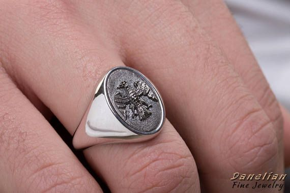 Perfect Jewelry Gift Sterling Silver Mens Saint Christopher Ring