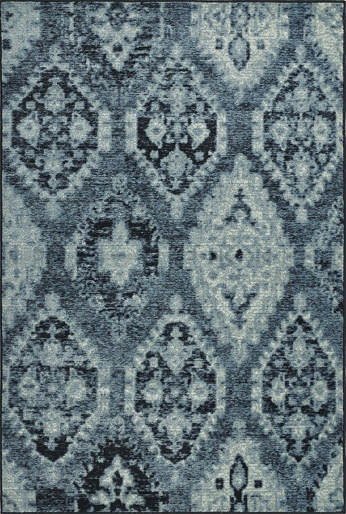Blue Patterned Area Rug Dalyn Chic Home Decor Area Rugs