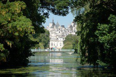 London, Great Britain: James Of Arci, St. James Parks, Parks Lakes, Jamess Parks