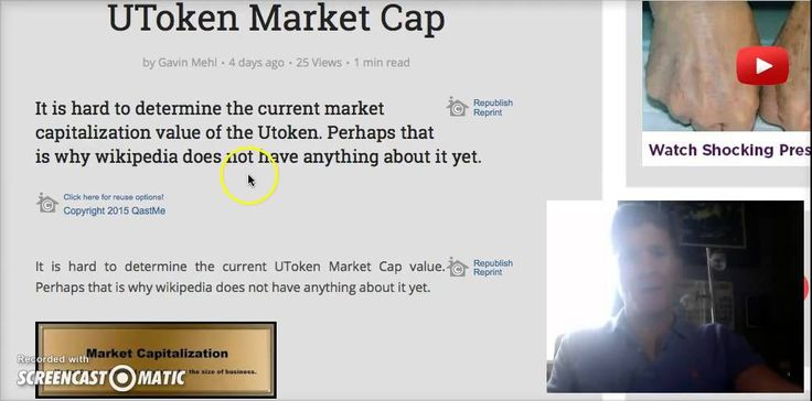 UTokens Documentary & #UToken Market Cap via @youtube http://youtu.be/G6ujgchoF8k https://storify.com/GavinMehl/utoken-market-capitalization