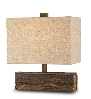 All Things Coastal Sea Glass| SErafini Amelia| LAMP love the wood base