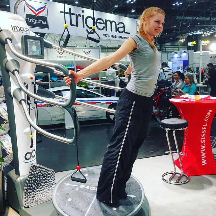 Der Imoove auf der Therapie Leipzig - Messe für Physiotherapeuten - Gelenkmobilisation, Training der autochthonen Rückenmuskulatur, Förderung der Reaktionsfähigkeit