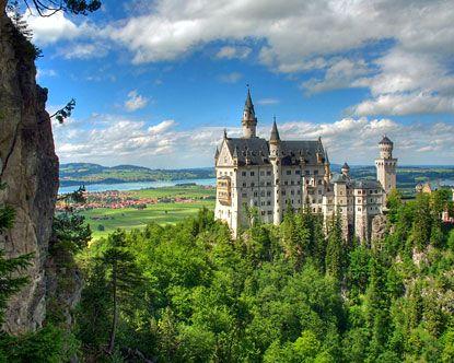 Neuschwanstein Castle, Germany: German Castles, Favorite Places, Cinderella Castles, Schloss Neuschwanstein, Disney World, Beautiful Germany, Neuschwanstein Castles, Castles In Germany, Castles Germany