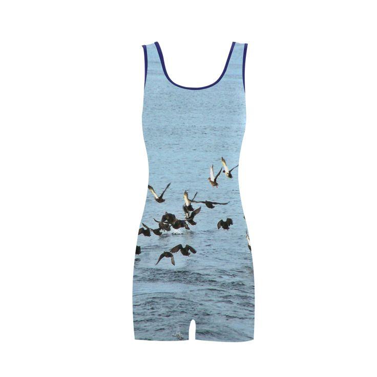 Flock Off Classic One Piece Swimwear.