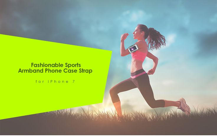 AiBOUSA Sport Fitness Armband Mobile Phone Case for iPhone 7