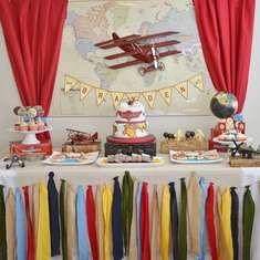 Brayden's 3rd Vintage Airplane Birthday Party - Vintage Airplane