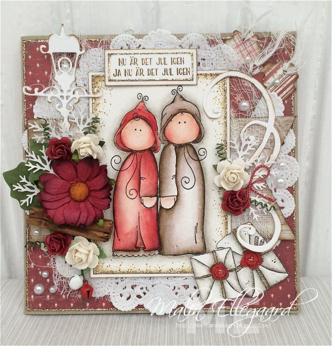 Christmas card by Malin Ellegaard