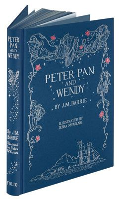 The Folio Society: Peter Pan and Wendy (available on ebay.com)