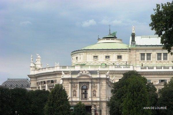 Burgtheater, Summer 2009, Wien, Österreich.