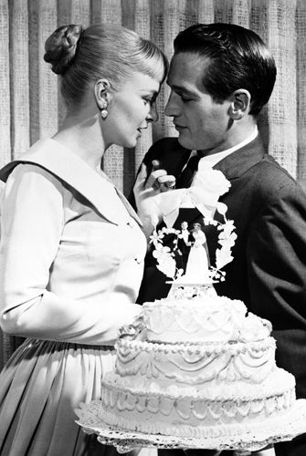 Matrimoni vintage Febbraio 1958. Paul Newman sposa Joanne Woodward a Las Vegas