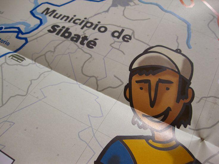 Infographics on cultural heritage of Sibaté, Colombia. Universidad Externado de Colombia, 2014.