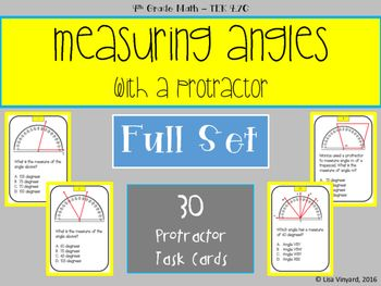 54 best cool beans ed images on pinterest beans calculus and math measuring angles with a protractor 30 task cards fandeluxe Image collections