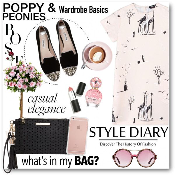 Poppy & Peonies 13 by fashionmonsters on Polyvore featuring Rochas, Miu Miu, Sigma Beauty, Marc Jacobs, Tom Ford and Martha Stewart