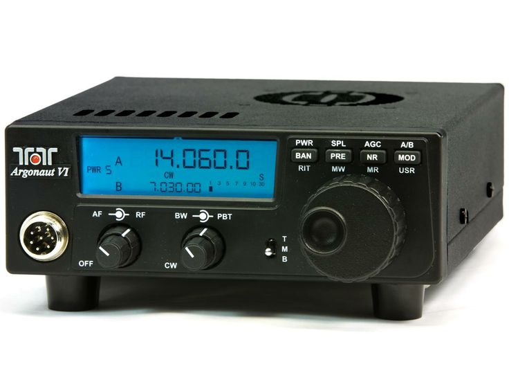 Ten-Tec Argonaut VI QRP. Made in America. One of my favorite radio companies (TT and Flex). Great little radio with a fantastic receiver. Fun to use!