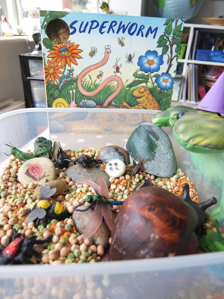 Manageable sensory story box