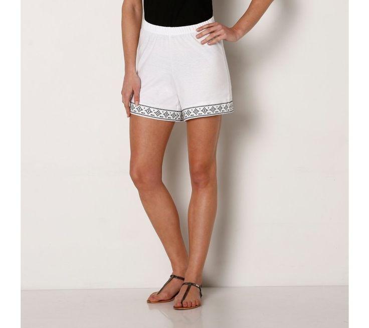 Šortky s výšivkou | blancheporte.cz #blancheporte #blancheporteCZ #blancheporte_cz #shorts #kratasy