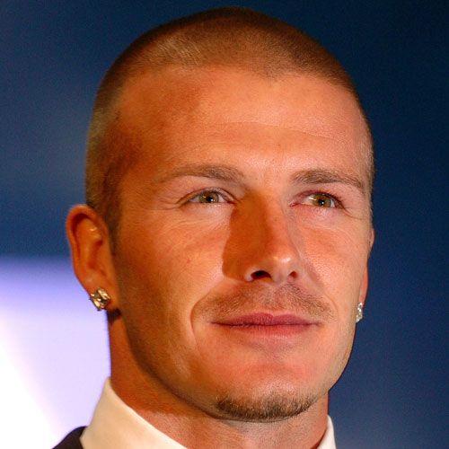 David Beckham Short Hair - Buzz Cut
