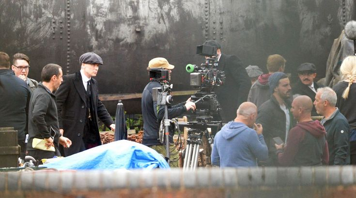 Filming commences on the new Peaky Blinders saga at the Black Country Living Museum, around the canal area.