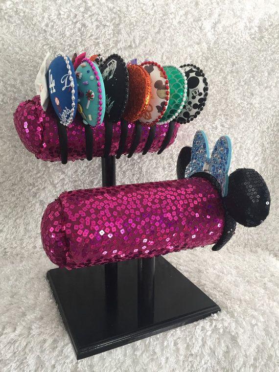 Minnie Ears Mouse Ear Display Minnie Mouse by LoveThoseDisneyEars Disney ears Disneyland