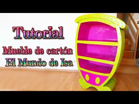 ▶ Manualidades: Mueble de cartón para niños, DIY cartoon furniture - YouTube - Isa ❤️ - YouTube