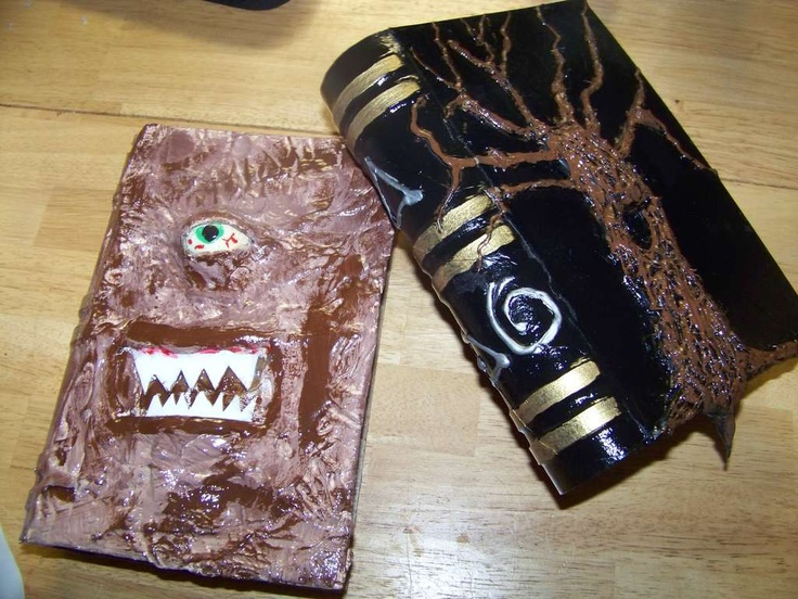 Spell books for a HP or halloween party