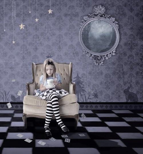 Girl Story Fairytale Book Magic Wonderland Aliceinwonderland Creepy Dark Checkered Mirror Alice In Wonderland Alice In Wonderland Theme Wonderland