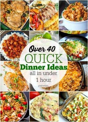 Quick Dinner Ideas