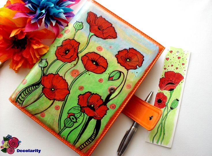 """""""Poppies"""" acrilyc paint."""