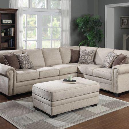 "Lacie 90"" Sectional Sofa"