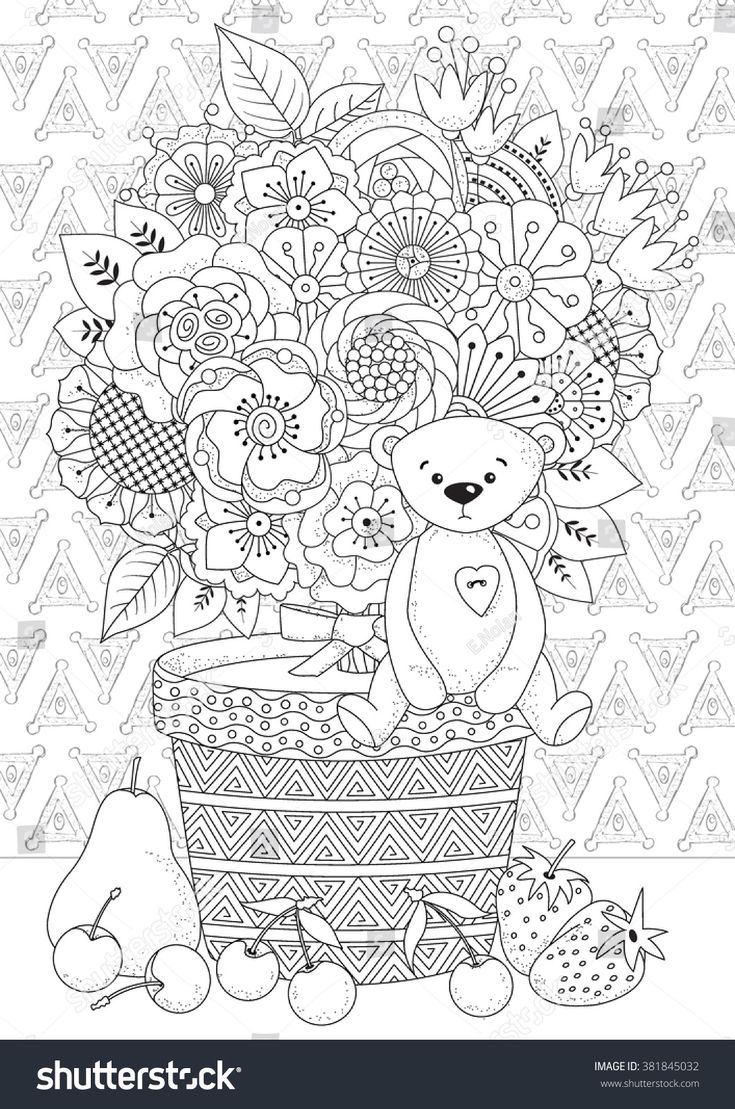 Coloring book for adul...