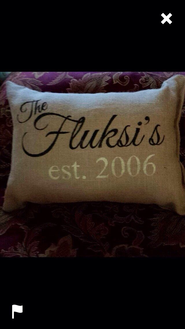 Burlap pillow, personalized pillow, personalized gift, Mother's Day gift, decorative pillow, accent pillow, throw pillow by burlapheartstrings on Etsy https://www.etsy.com/listing/126915859/burlap-pillow-personalized-pillow