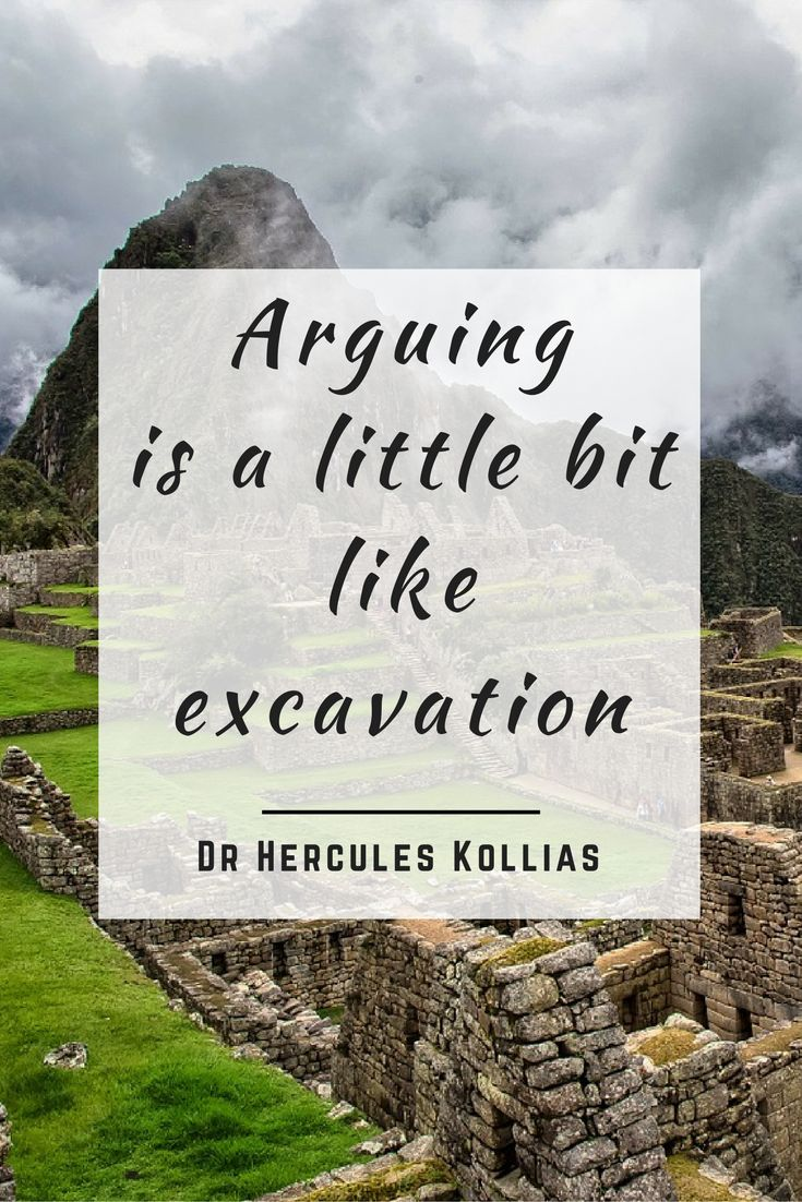 Arguing is a little bit like excavation. #Relationship #Quote #Arguing…