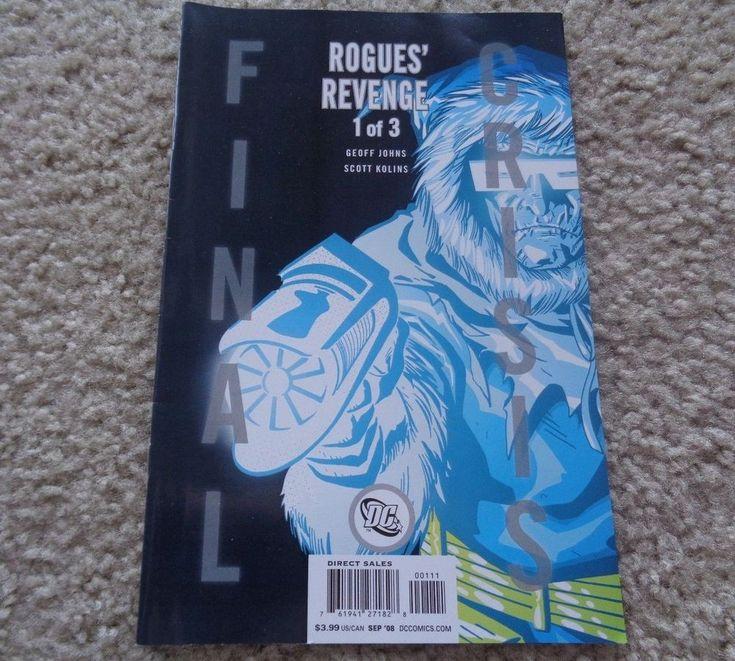 DC Comics Final Crisis Rogues Revenge 1 of 3 September 2008