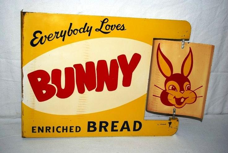 Bunny Bread | Vintage Gallery | Pinterest