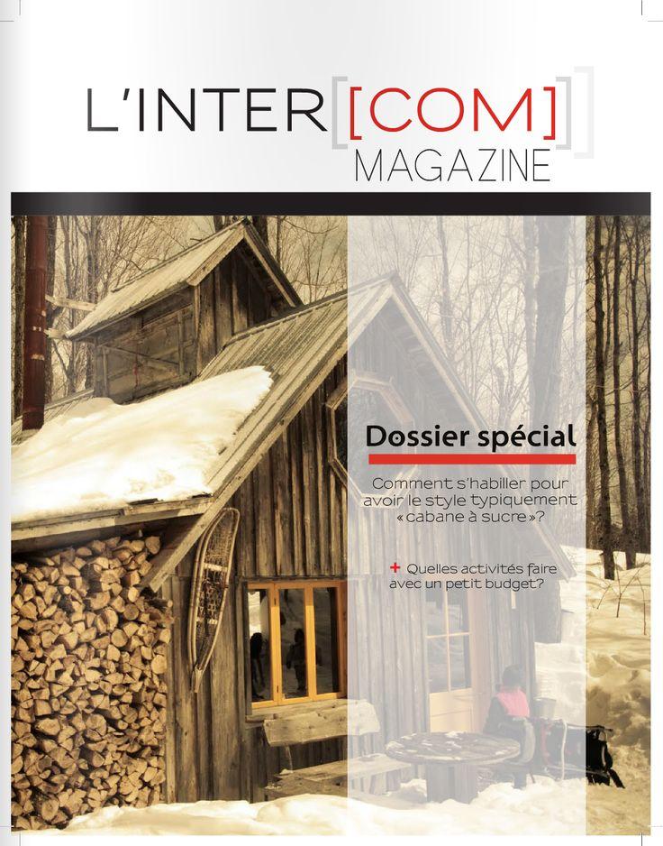 Mars 2013 #intercom #magazine #étudiant